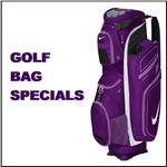 LADIES GOLF BAG SPECIALS