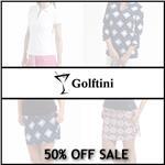 GOLFTINI SPORTSWEAR 50% OFF SALE