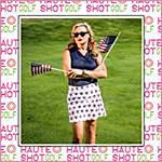 HAUTE SHOT Ladies Novelty Print Skorts