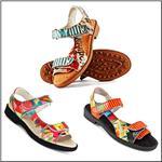 ICON Art Printed Golf & Street Wear Sandals
