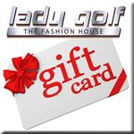 LADY GOLF ALL OCCASION Gift Cards