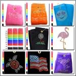 Golf Towels - Assorted Styles and Colors