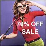 MASTERS 70% OFF END OF SUMMER CLEARANCE