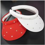 HIGH SPIRITS Rhinestone Studded Clip-On Visors