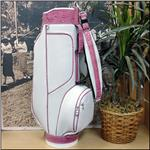 The Pinky Pink/White Classic Style Golf Bag