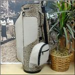 The Beige Leopard Classic Style Golf Bag