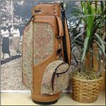 The Peanut Floral Ladies Classic Style Tapestry Golf Bag