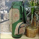 The Green Floral Ladies Classic Style Tapestry Golf Bag