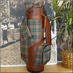 HUNTER PLAID Golfbag With Matching Club Covers