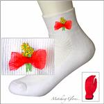 EVERTAN Ruby Red Designer Socks
