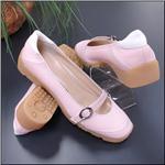 WALTER GENUIN Final Sale Sissi Pink / White Shoe