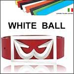 WHITE BALL Belts With Interchangable Straps
